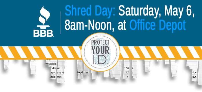 Shread Day by BBB Tami R Benus CPA Columbia MO Certified Public Accountant